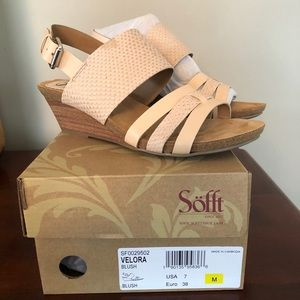 Sofft Velora Blush Sandals
